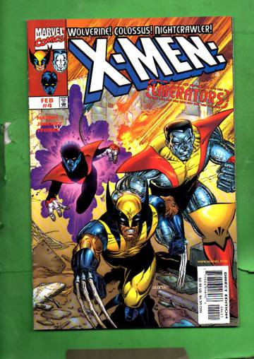 X-Men: Liberators Vol. 1 #4 Feb 99