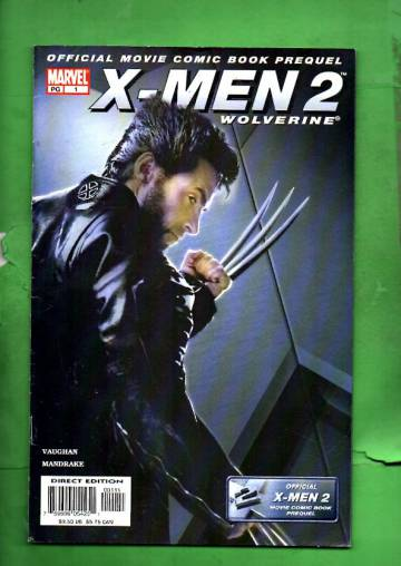 X-Men 2 Prequel: Wolverine Vol. 1 #1 May 03