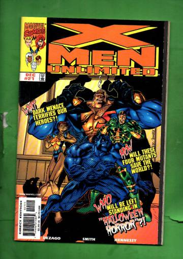 X-Men Unlimited Vol 1 #21 Dec 97