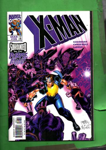 X-Man Vol. 1 #36 Mar 98