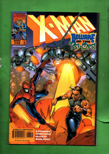 X-Man Vol. 1 #38 May 98