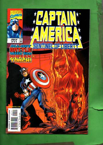 Captain America: Sentinel of Liberty Vol. 1 #11 Jul 99