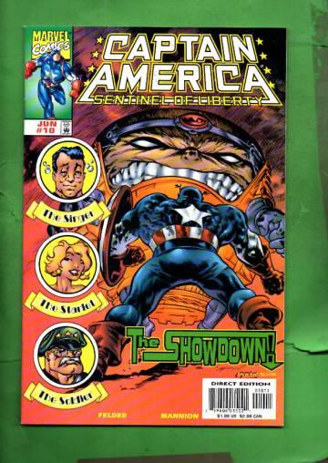Captain America: Sentinel of Liberty Vol. 1 #10 Jun 99