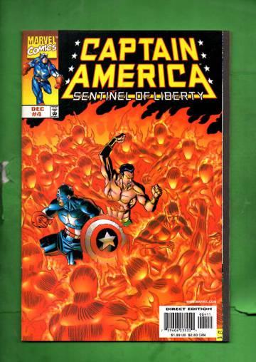 Captain America: Sentinel of Liberty Vol. 1 #4 Dec 98