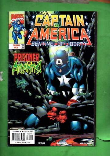 Captain America: Sentinel of Liberty Vol. 1 #3 Nov 98