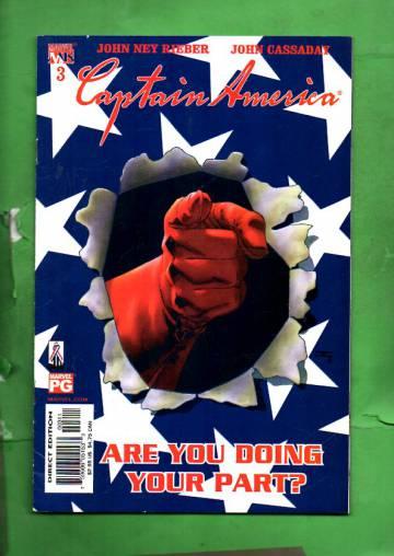 Captain America Vol. 4 #3 Aug 02