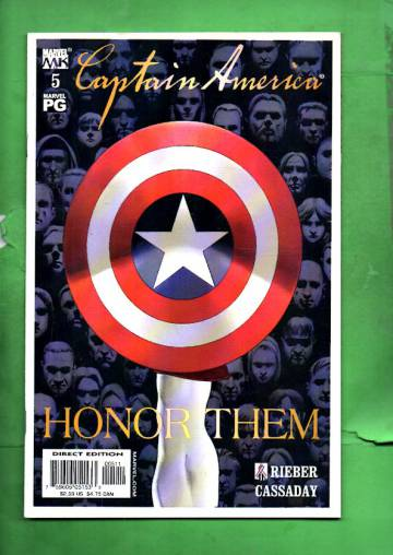 Captain America Vol. 4 #5 Oct 02