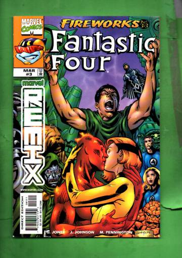 Fantastic Four: Fireworks Vol. 1 #3 Mar 99