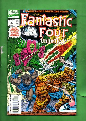 Fantastic Four Unlimited Vol. 1 #3 Sep 93