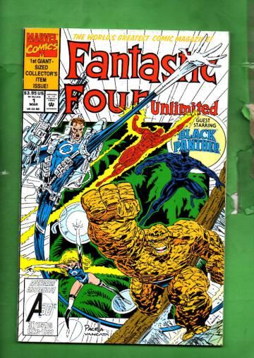 Fantastic Four Unlimited Vol. 1 #1 Mar 93