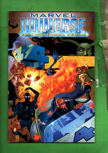 Marvel Universe: Millennial Visions Vol. 1 #1 Feb 02