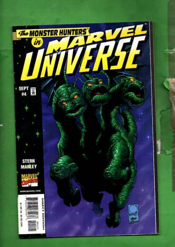 Marvel Universe Vol. 1 #4 Sep 98