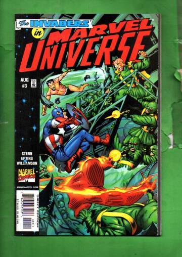Marvel Universe Vol. 1 #3 Aug 98
