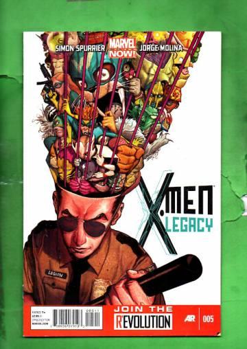 X-Men Legacy #5 Mar 13