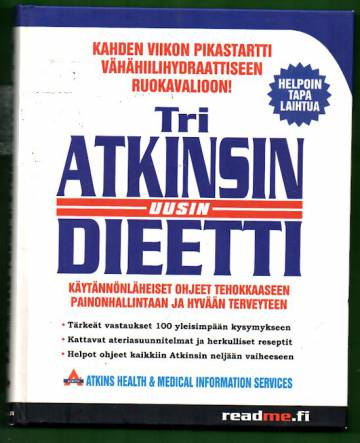 Tri Atkinsin uusin dieetti