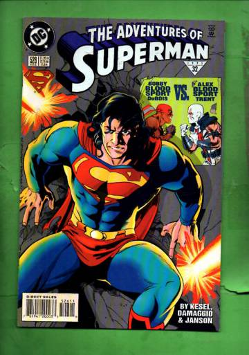 Adventures of Superman #526 Aug 95