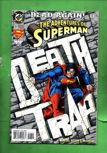Adventures of Superman #517 Nov 94