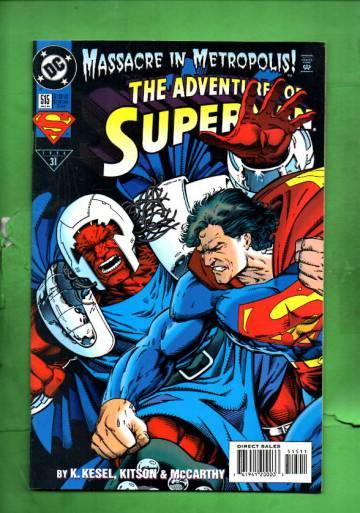 Adventures of Superman #515 Aug 94