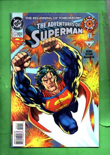 Adventures of Superman #0 Oct 94