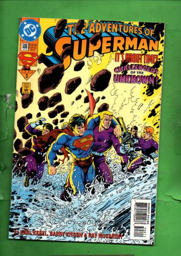 Adventures of Superman #508 Jan 94