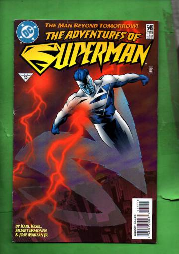 Adventures of Superman #549 Aug 97