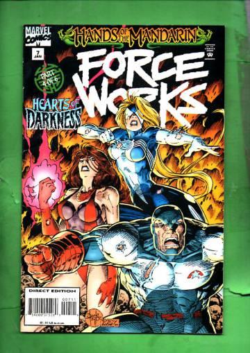 Force Works Vol. 1 #7 Jan 95