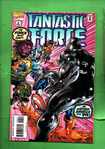 Fantastic Force Vol. 1 #4 Feb 95