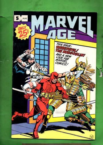 Marvel Age Vol. 1 #5 Aug 83