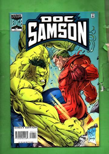 Doc Samson Vol. 1 #1 Jan 96
