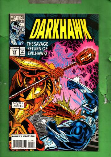 Darkhawk Vol. 1 #41 Jul 94