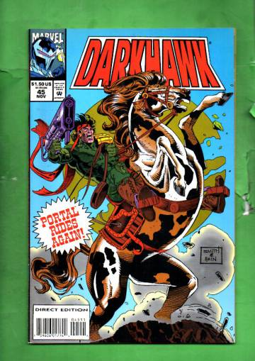 Darkhawk Vol. 1 #45 Nov 94