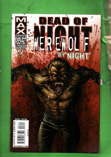 Dead of Night Featuring Werewolf by Night #3 May 09