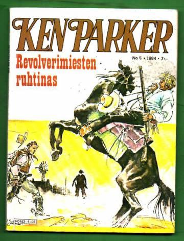 Ken Parker 5/84 - Revolverimiesten ruhtinas