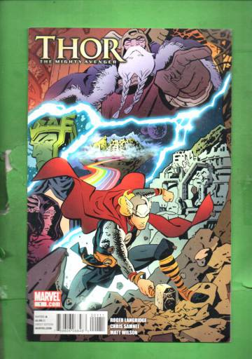 Thor the Mighty Avenger #1 Sep 10