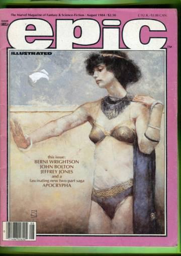 Epic #25 Aug 84