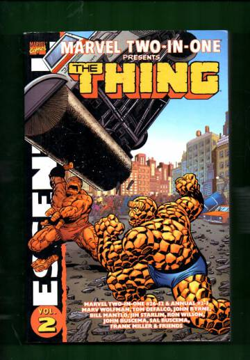Essential Marvel Two-in-One Vol. 2