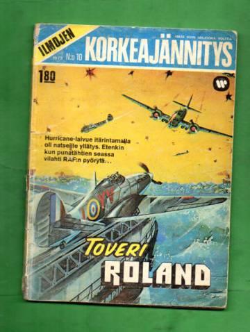 Ilmojen Korkeajännitys 10/73 - Toveri Roland