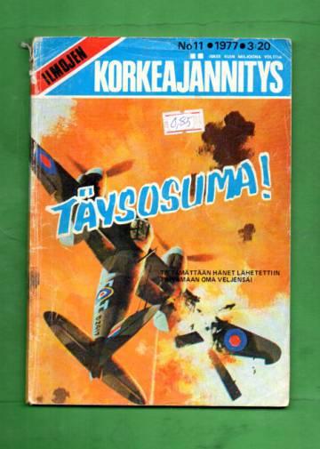 Ilmojen Korkeajännitys 11/77 - Täysosuma!