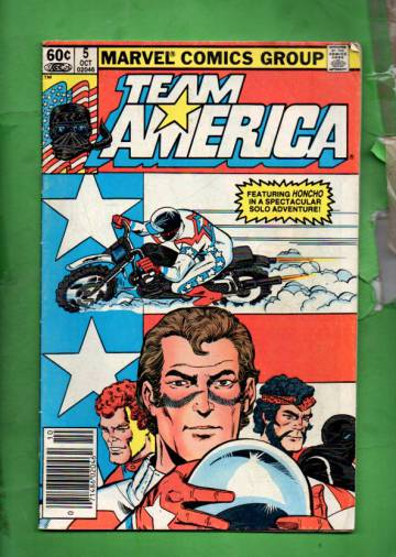 Team America Vol 1 #5 Oct 82