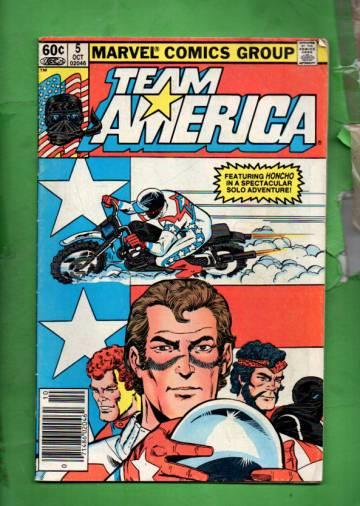 Team America Vol 1 #5 Oct 82