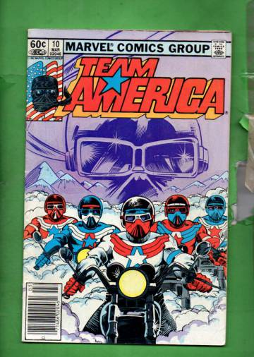 Team America Vol 1 #10 Mar 83
