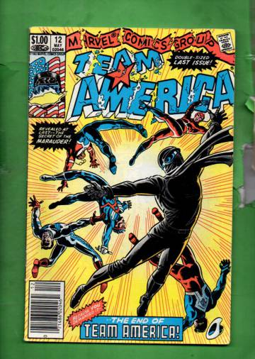 Team America Vol 1 #12 May 83