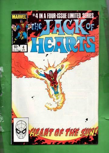 The Jack of Hearts Vol 1 #4 Apr 84