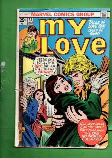 My Love Vol 1 #39 Mar 76