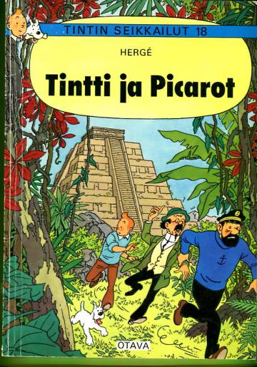 Tintin seikkailut 18 - Tintti ja Picarot (1. painos)