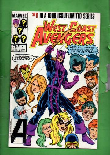 West Coast Avengers Vol 1 #1 (of 4) Sep 84