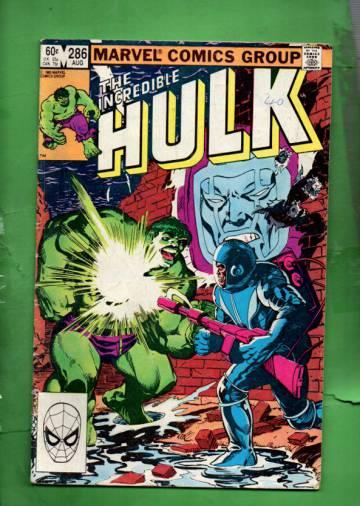 The Incredible Hulk Vol 1 #286 Aug 83