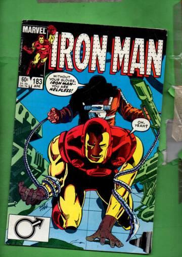 Iron Man Vol 1 #183 Jun 84