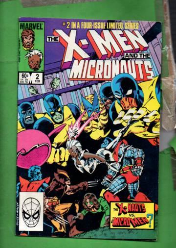 The X-Men and the Micronauts Vol 1 #2 Feb 84