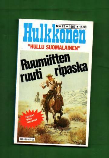Hulkkonen 25/87 - Ruumiitten ruuti ripaska